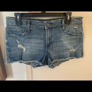 STS Blue Denim Shorts 28 (NWOT)